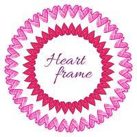 coração do quadro