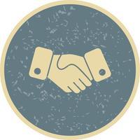 Ícone do vetor de aperto de mão