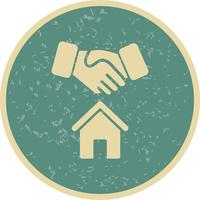 Ícone de vetor de negócio de casa