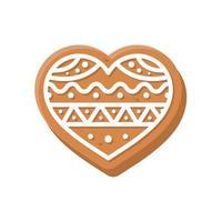 Biscoitos natalinos. pão doce para crianças no natal vetor