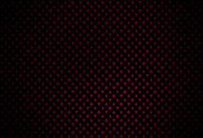 capa de vetor vermelho escuro com símbolos de aposta.