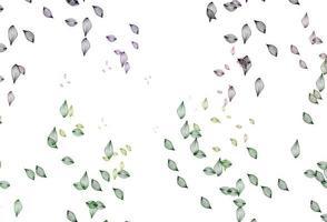 padrão de doodle de vetor rosa e verde claro.