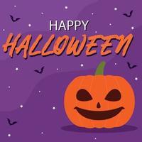 Parabéns banner colorido brilhante da web do dia das bruxas - vetor