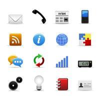 Vetor de ícones da Web.