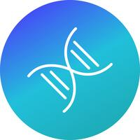 Ícone de genética de vetor