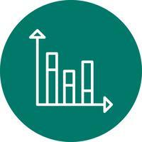 Ícone de estatísticas do vetor