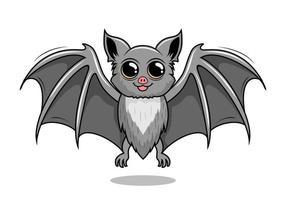 morcego cartoon ilustrações isoladas de morcego vampiro vetor