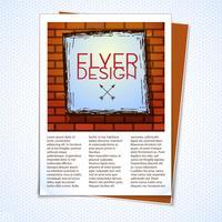 Layout de Design Gráfico vetor