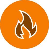 Ícone de vetor de fogo
