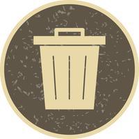 Ícone de vetor de resíduos