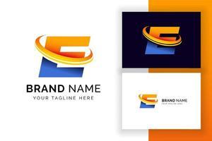 modelo de design de logotipo digital letra e. ícone de letra do alfabeto techno. vetor