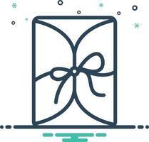 ícone de mistura para embrulhar vetor