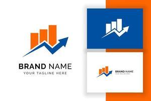 modelo de ícone de logotipo de negócios excelente. símbolo de sinal de negócios abstratos vetor