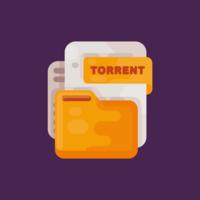 Vetor De Arquivo Torrent