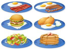 Café da manhã vetor