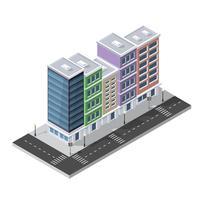 Distrito 3D isométrico