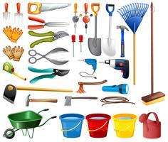 Kit de ferramentas vetor