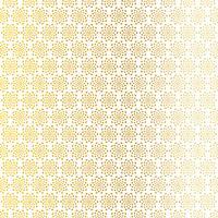 padrão de starburst abstrato branco ouro vetor