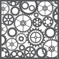 Engrenagens de corte de silhueta padrão