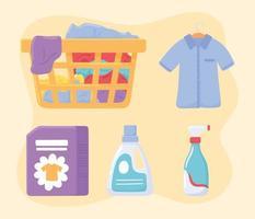 ícone de lavanderia vetor