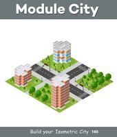 Cidade, jogo, quarto, vista superior, paisagem, isometric, 3d, projeção
