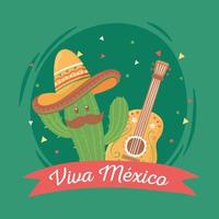 dia da independência mexicana vetor