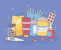 definir equipamento médico vetor