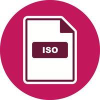 Ícone Vector ISO