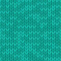 fundo de textura de cor turquesa de lã. fundo de malha sem costura. ilustração para design, planos de fundo, papel de parede. ilustração vetorial. vetor