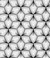 Desenho de mão sem costura padrão alinhado. vetor
