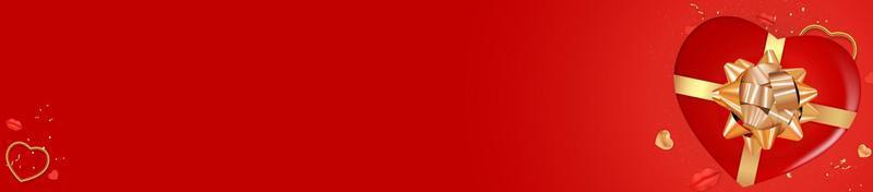 design de plano de fundo do dia dos namorados. modelo para anúncios de publicidade, web, mídia social e moda. cartaz, folheto, cartão de felicitações, cabeçalho para site de ilustração vetorial eps10 vetor