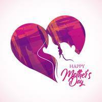 Feliz Dia das Mães vetor
