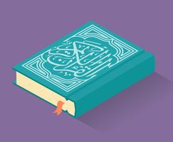 Ilustração do Alcorão vetor