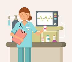 Vector de saúde médica