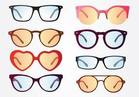 Pacote de vetores de óculos