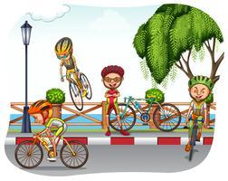 Ciclismo vetor