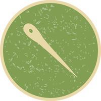 Ícone de vetor de agulha