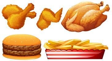 Frango e fast food