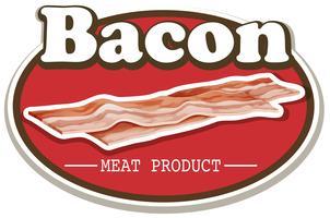 bacon vetor