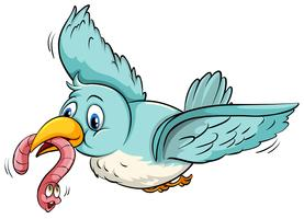 Pássaro voando vetor