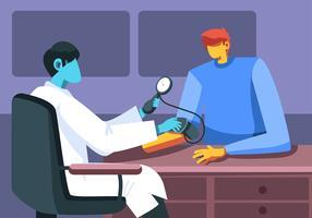 Cuidados de saúde vetor