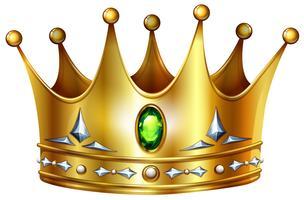 Coroa vetor