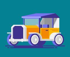 Ilustração Retro Car vetor