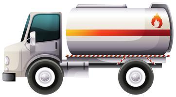 Um caminhão de entrega