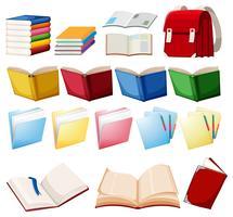 Jogo, livro, objeto vetor