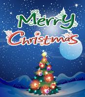 árvore de Natal vetor