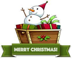 Feliz Natal vetor
