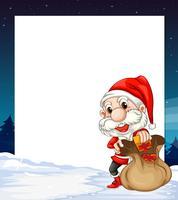 Banner de Natal vetor