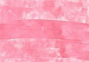 Mão colorida pintada em aquarela de fundo. Pinceladas de aquarela rosa. Textura e fundo abstratos da aguarela para o projeto. Fundo aquarela sobre papel texturizado. vetor