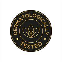Ícone Dermatologicamente testado